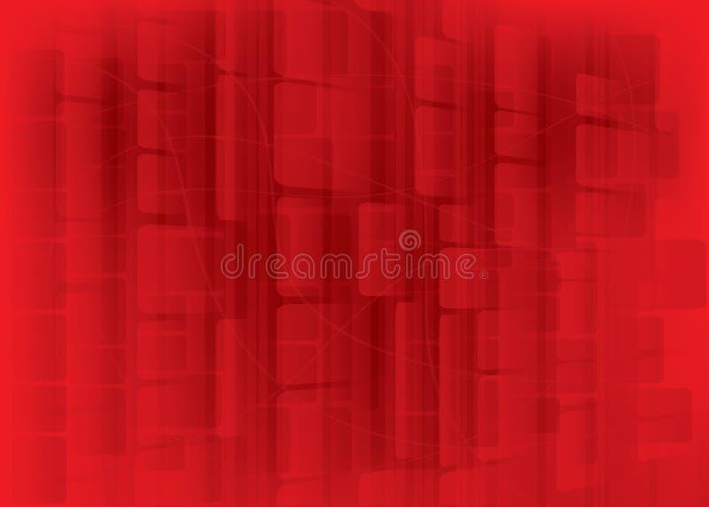 абстрактный красный цвет цвета предпосылки иллюстрация вектора