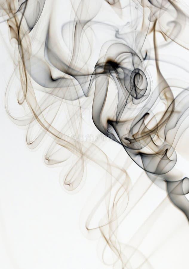 Абстрактный красочный дым стоковые изображения