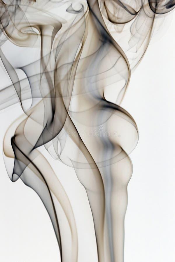 Абстрактный красочный дым стоковые изображения rf