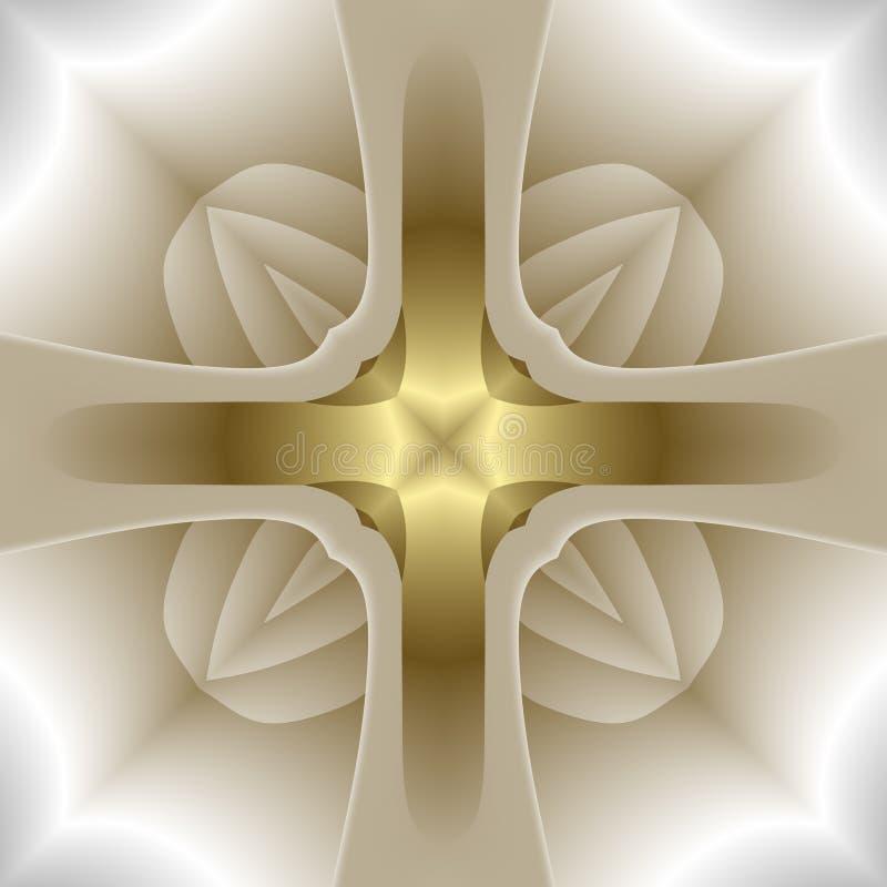абстрактный крест бесплатная иллюстрация