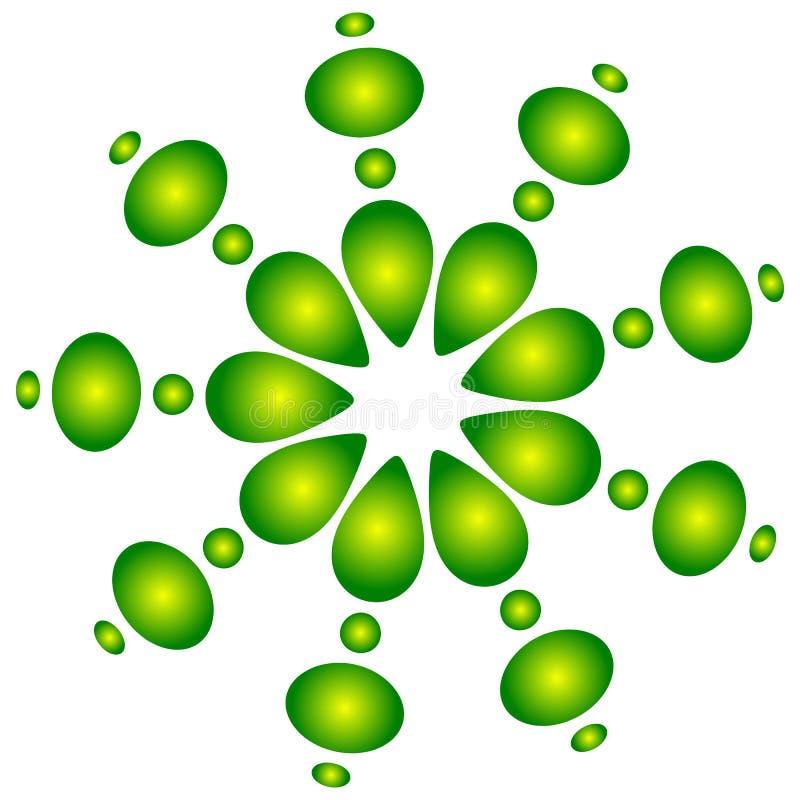 Download Абстрактный круговой, поставленный точки элемент Иллюстрация вектора - иллюстрации насчитывающей элемент, центрально: 81809904