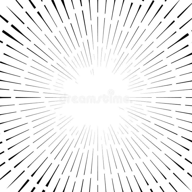 Download Абстрактный круговой элемент, радиальные линии форма геометрический элемент Иллюстрация вектора - иллюстрации насчитывающей backhoe, скачками: 81811379