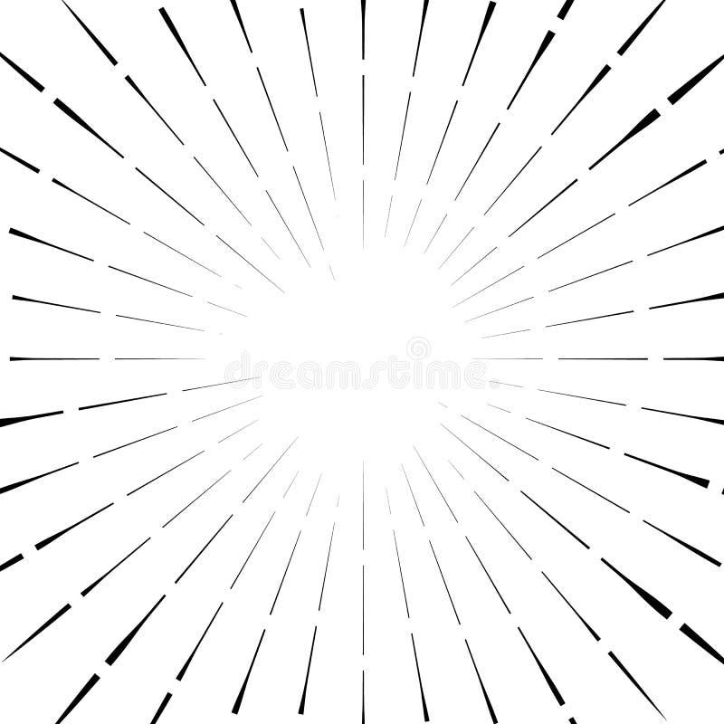Download Абстрактный круговой элемент, радиальные линии форма геометрический элемент Иллюстрация вектора - иллюстрации насчитывающей излучать, кругово: 81811382