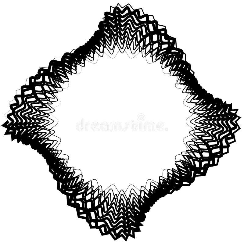Download Абстрактный круговой элемент с случайными формами Monochrome Geometr Иллюстрация вектора - иллюстрации насчитывающей скачками, свободно: 81810915