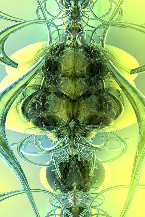 абстрактный кузнечик Стоковое Изображение