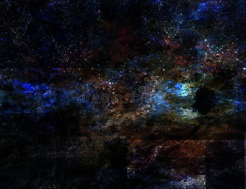 абстрактный ландшафт бесплатная иллюстрация