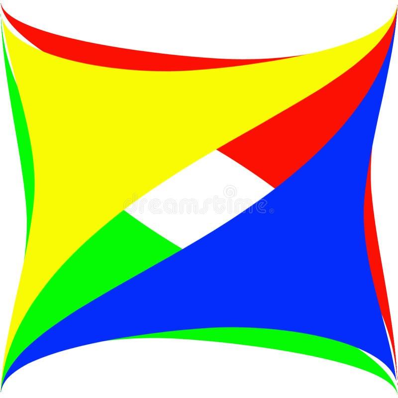 абстрактный логос иллюстрация штока