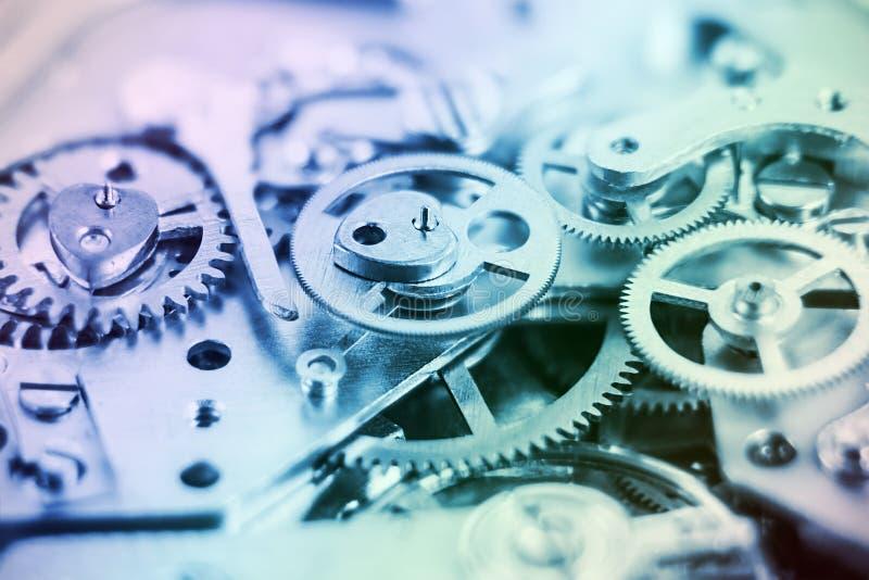 абстрактный механизм состава часов предпосылки стоковые изображения rf