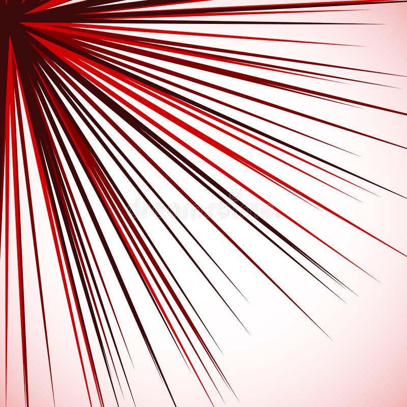 Download Абстрактный нервный график при радиальные линии распространяя от угла S Иллюстрация вектора - иллюстрации насчитывающей конспектов, от: 81812321
