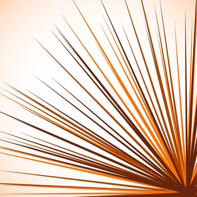Download Абстрактный нервный график при радиальные линии распространяя от угла S Иллюстрация вектора - иллюстрации насчитывающей лучи, взрыв: 81812325