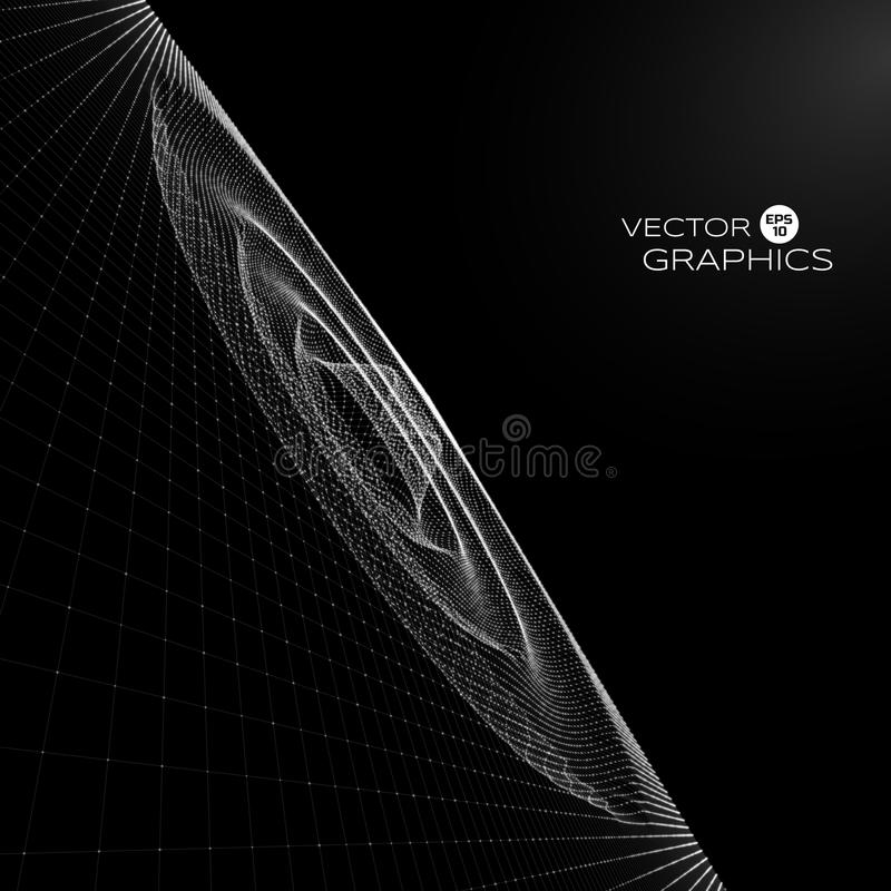 Абстрактный объект вектора иллюстрация вектора