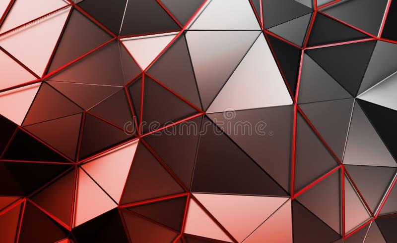 Download Абстрактный перевод 3D полигональной предпосылки Иллюстрация штока - иллюстрации насчитывающей сторонника, цифрово: 81802712
