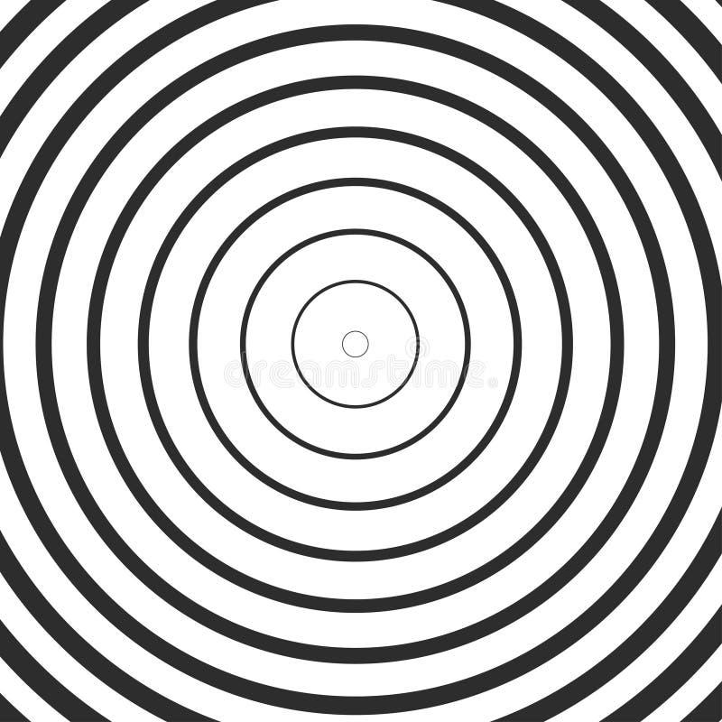 Абстрактный плакат, обман зрения иллюстрация вектора