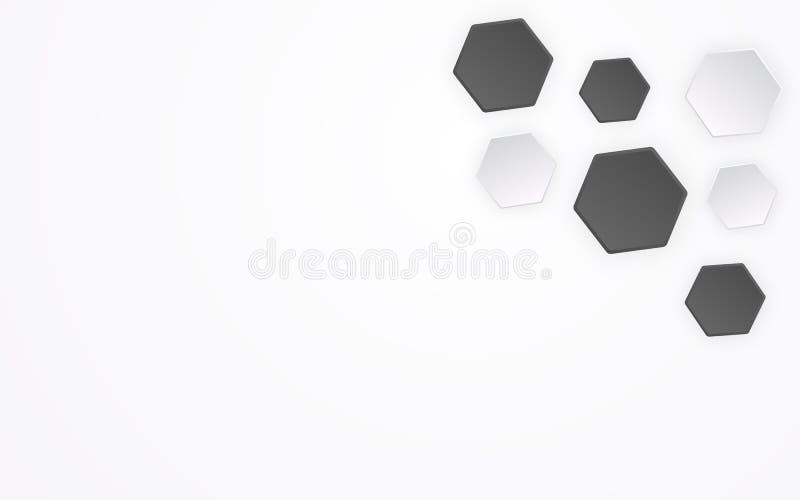 Абстрактный полигон как предпосылка картины футбола 3D Геометрическая форма и творческая конструктивная схема графического дизайн бесплатная иллюстрация