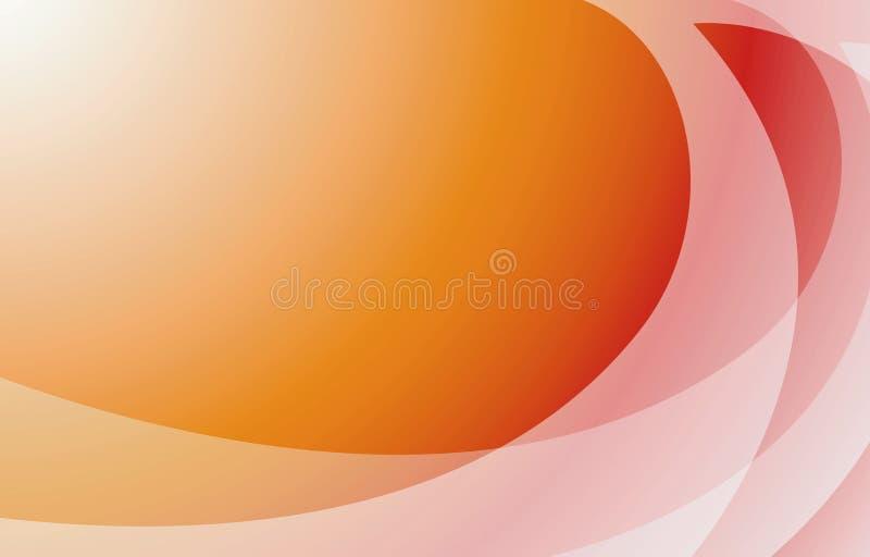 абстрактный помеец предпосылки иллюстрация вектора