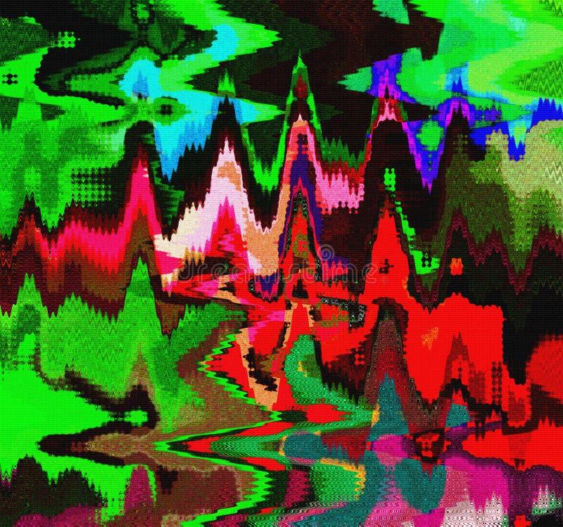 Абстрактный прессованный дизайн futuristig бесплатная иллюстрация