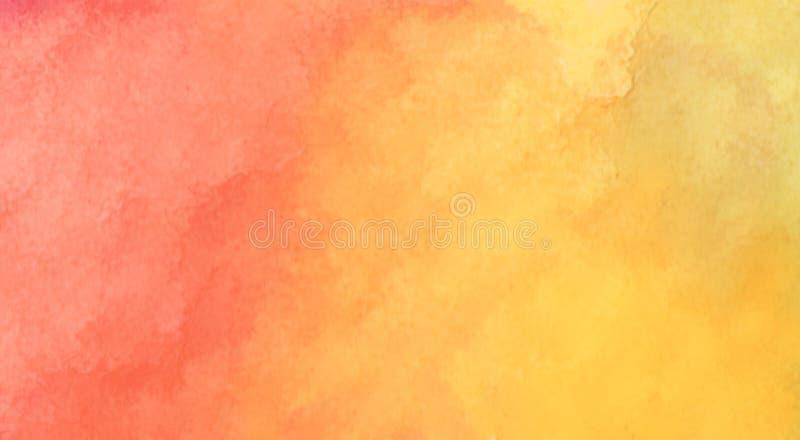 Абстрактный расплывчатый апельсин с желтой предпосылкой стоковые фото