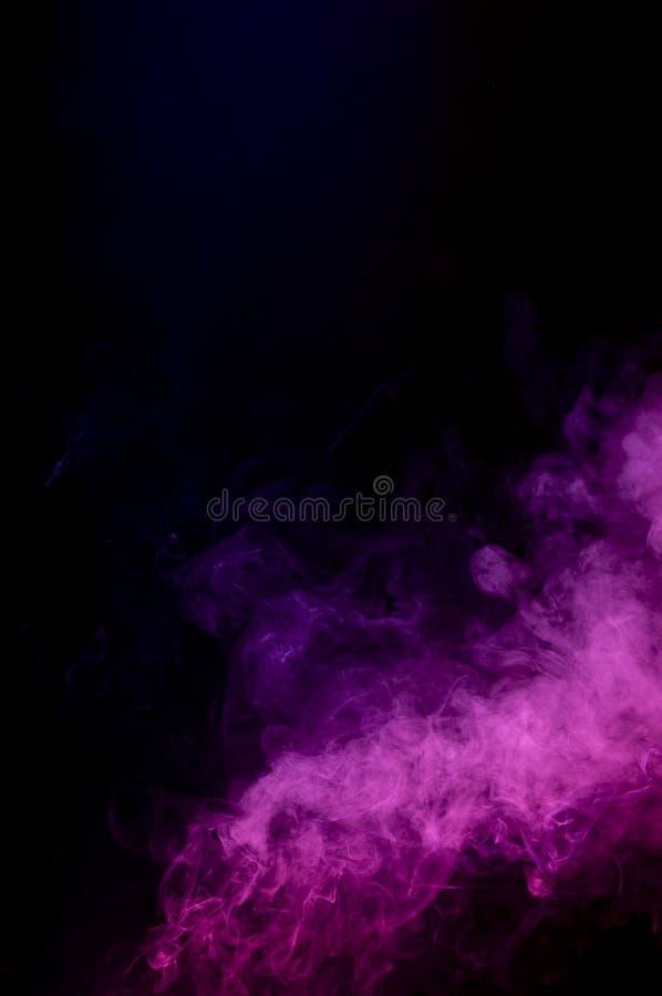абстрактный розовый дым стоковое изображение rf