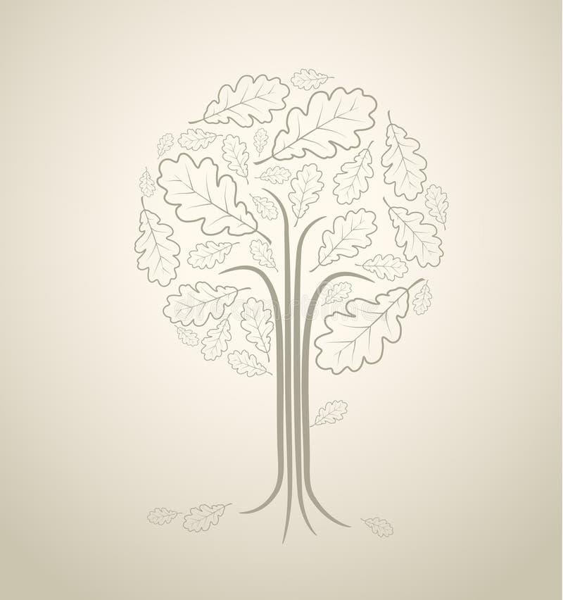 абстрактный сбор винограда вала иллюстрация штока