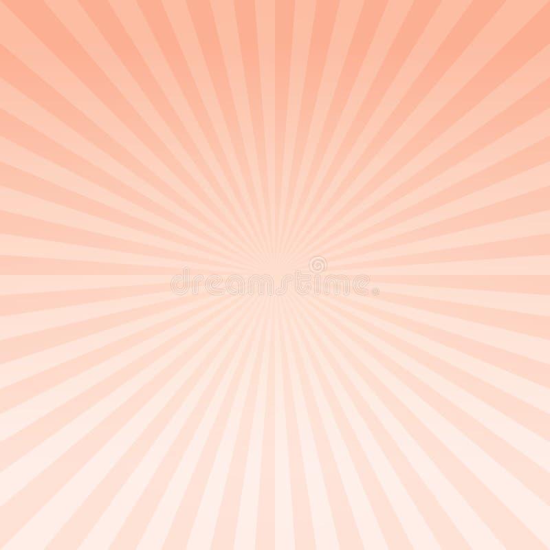 Абстрактный светлооранжевый градиент излучает предпосылку Cmyk EPS 10 вектора бесплатная иллюстрация