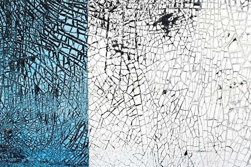 Абстрактный свет - голубой и белый с черной текстурой grunge стоковые изображения rf