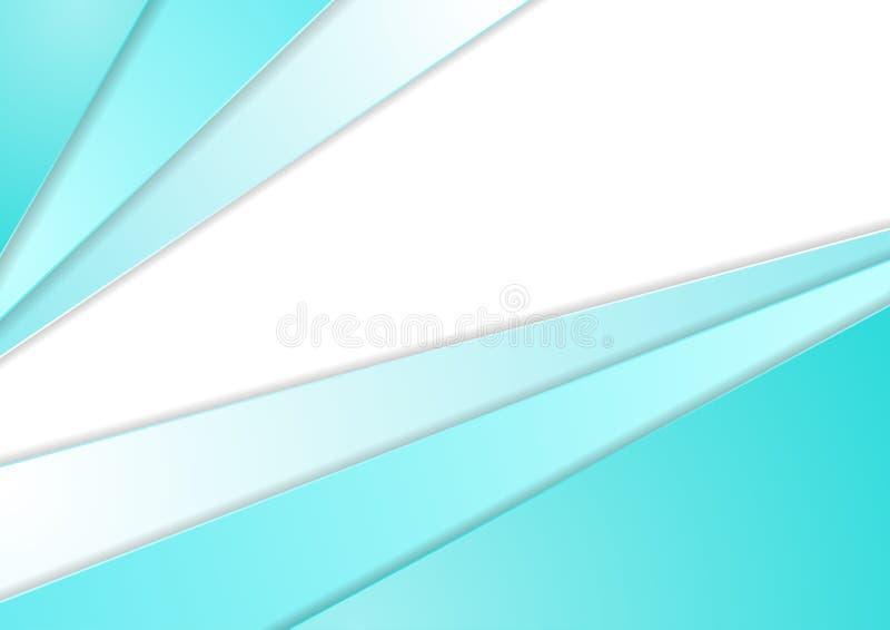 Абстрактный свет - предпосылка брошюры голубого техника корпоративная иллюстрация вектора