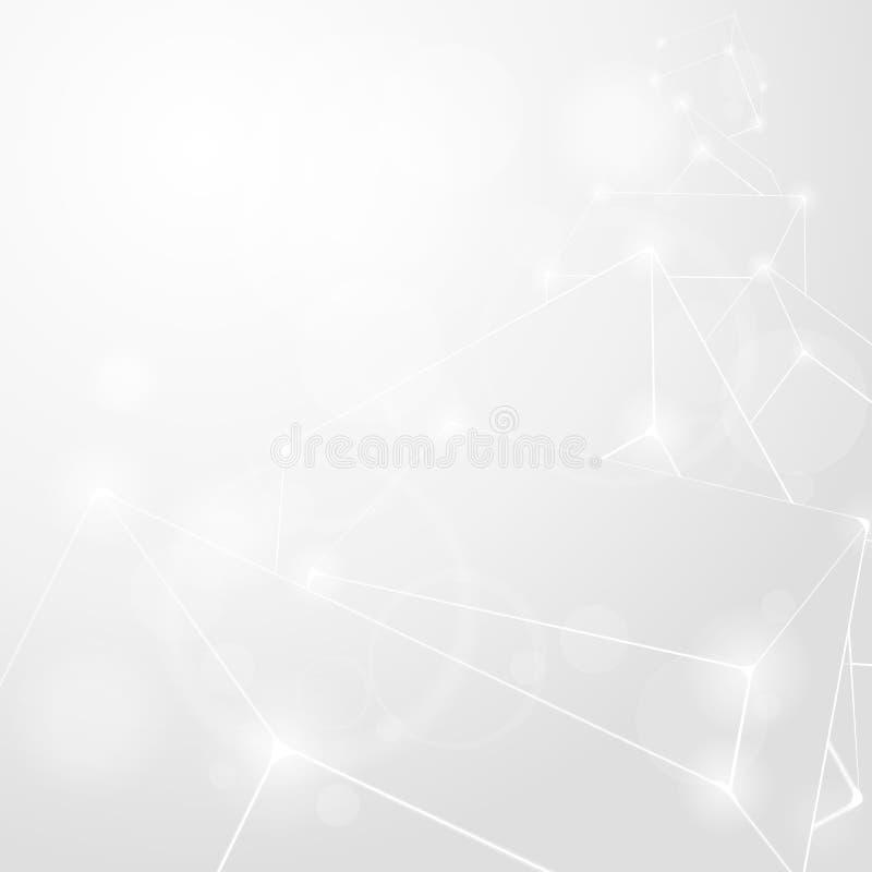 абстрактный свет предпосылки иллюстрация вектора