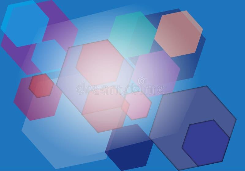 абстрактный свет сини предпосылки стоковые фото