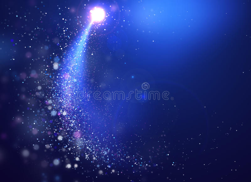 абстрактный свет сини предпосылки иллюстрация вектора
