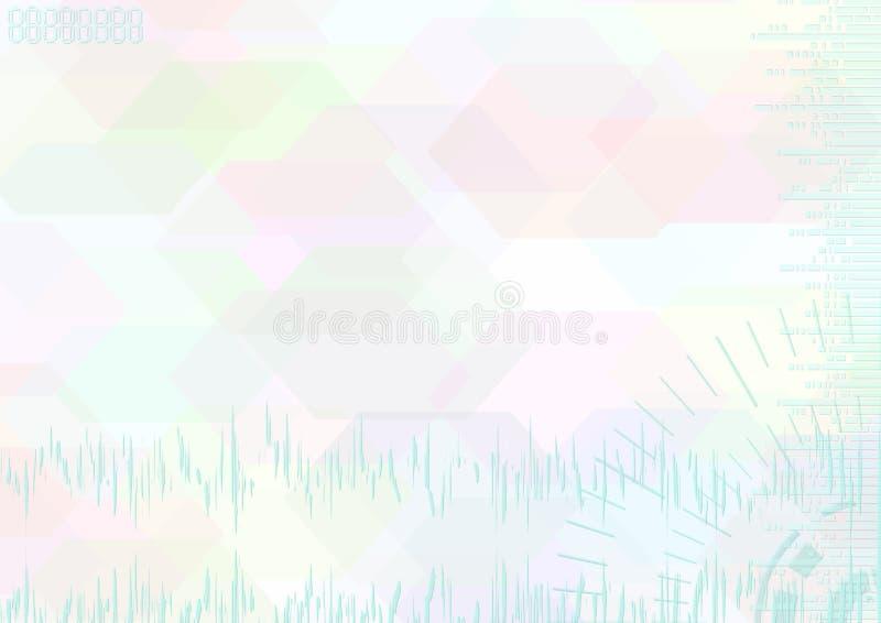 абстрактный свет цвета предпосылки бесплатная иллюстрация