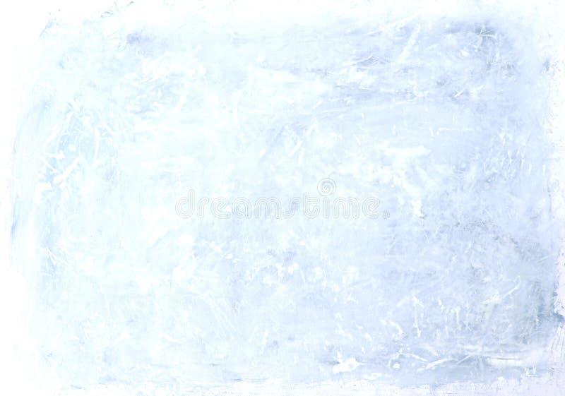 Абстрактный свет grunge - голубая предпосылка текстуры картины иллюстрация штока