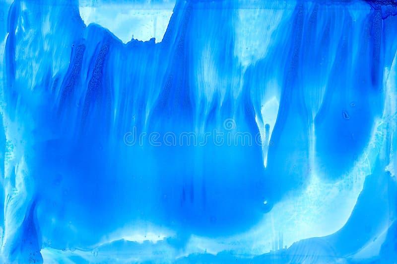 Абстрактный свет - smudged синь иллюстрация вектора