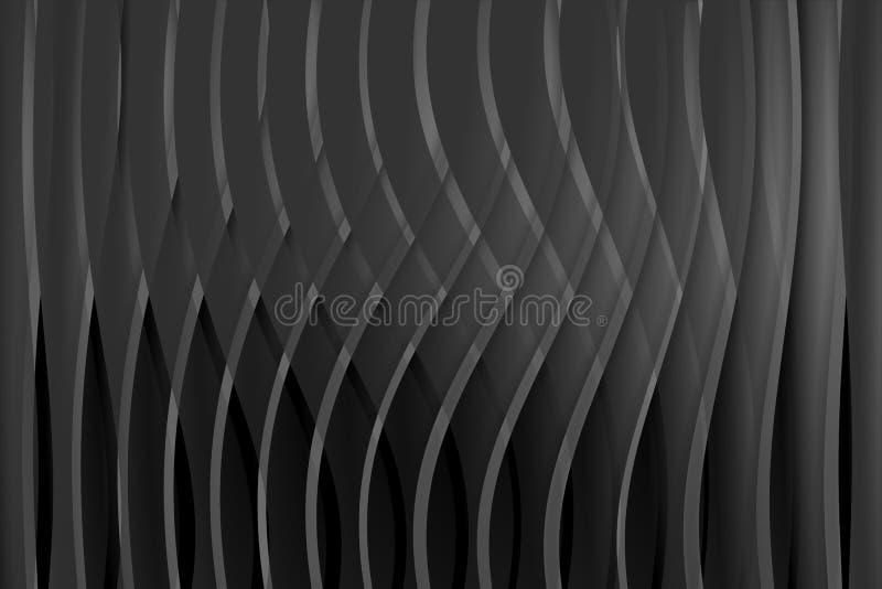 абстрактный серый цвет черноты предпосылки также вектор иллюстрации притяжки corel иллюстрация вектора