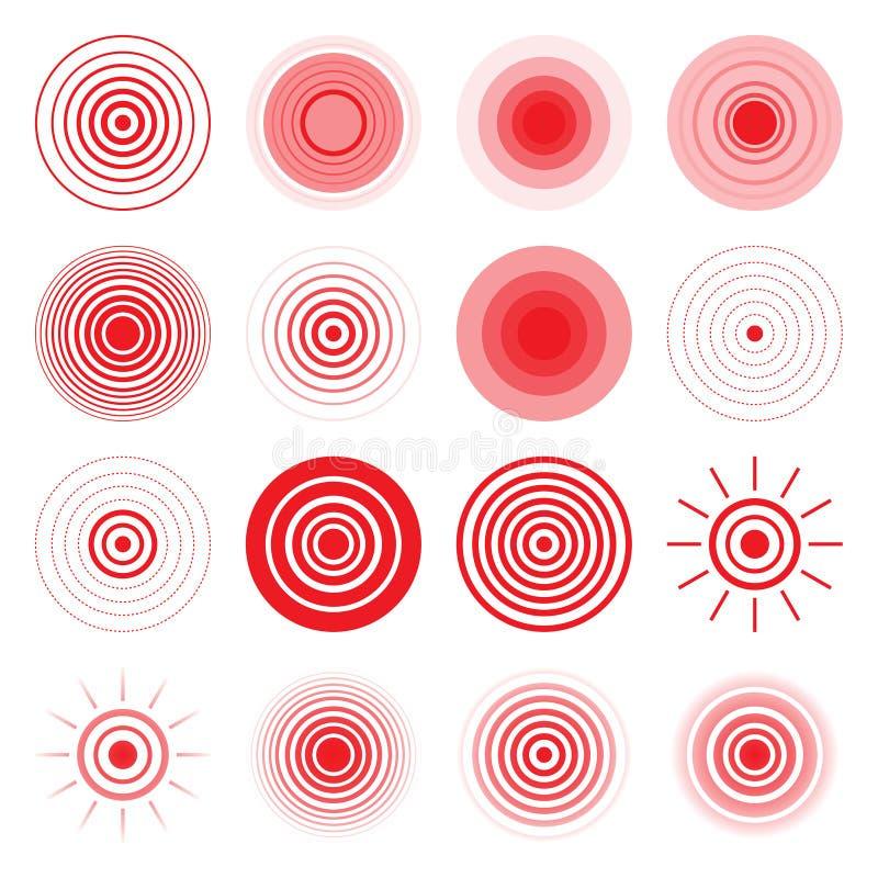 Абстрактный символ вектора иллюстрация вектора