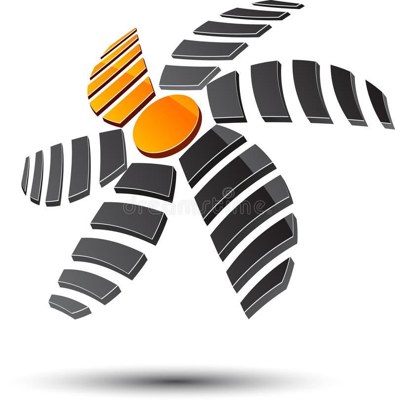 абстрактный символ иллюстрация штока