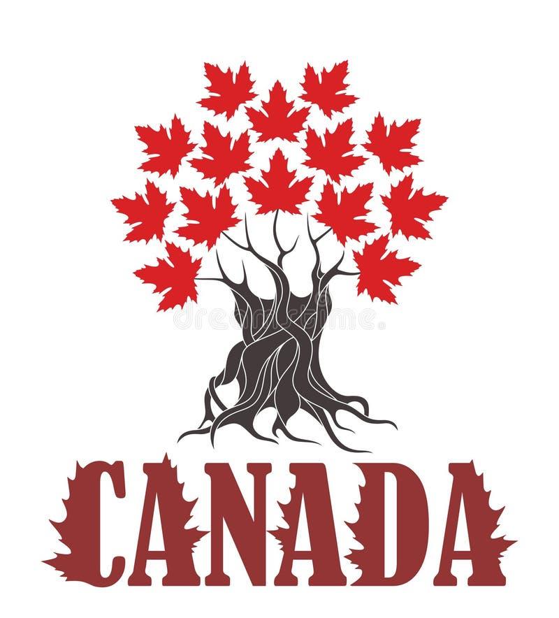 Абстрактный символ Канада бесплатная иллюстрация