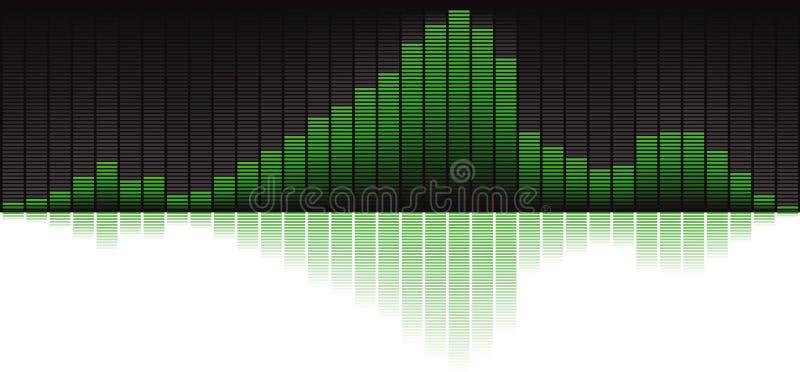 абстрактный синтезатор иллюстрация штока