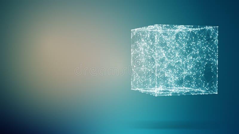 абстрактный состав геометрический иллюстрация вектора