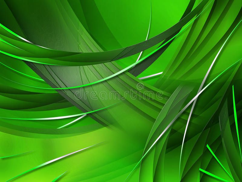 абстрактный состав изгибает линии градиентов иллюстрация вектора