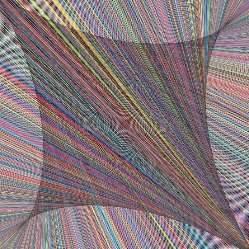 Абстрактный спектр радуги красочный увядает шаблон предпосылки нашивки решетки роскошный иллюстрация штока