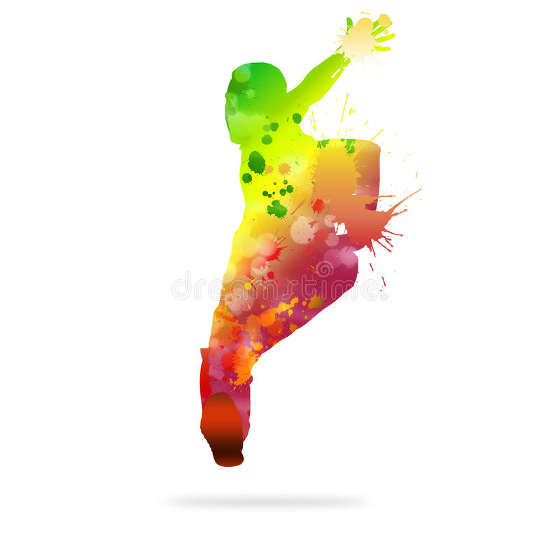 абстрактный танцор бесплатная иллюстрация