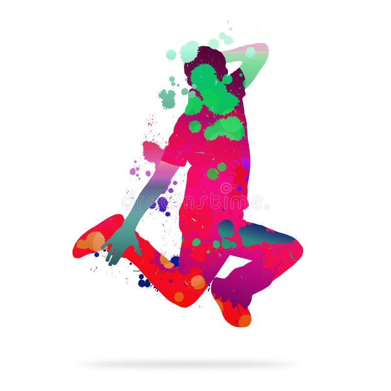 абстрактный танцор стоковые фотографии rf