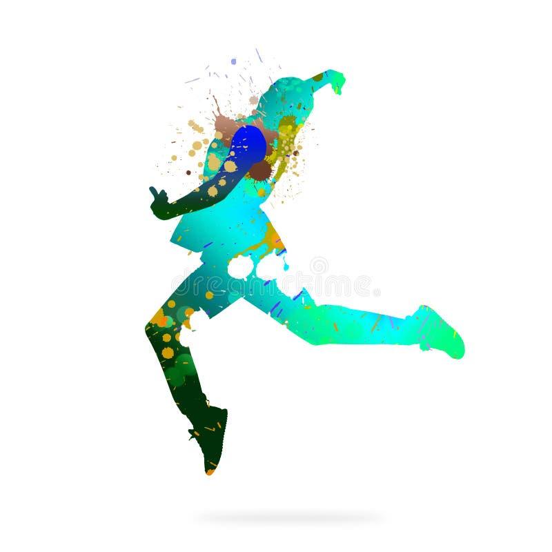 абстрактный танцор стоковое фото