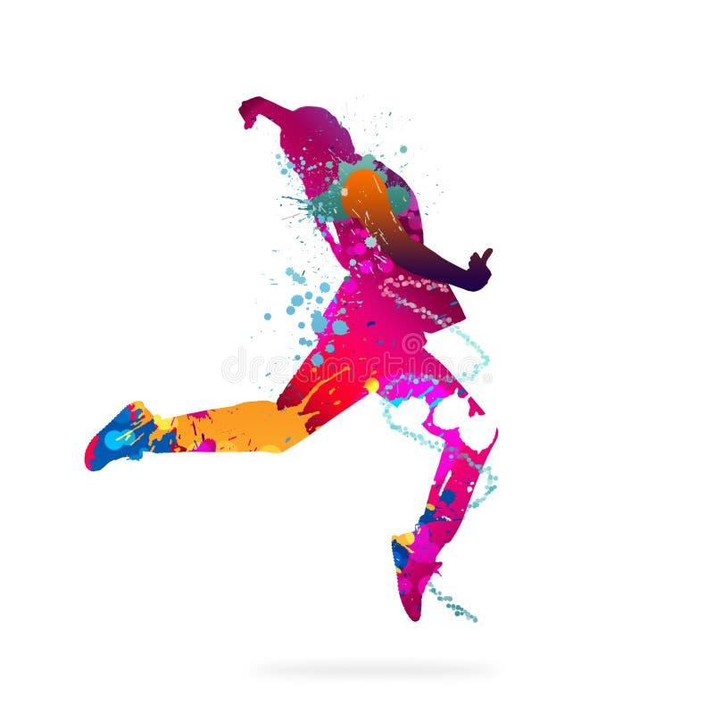 абстрактный танцор стоковые фото