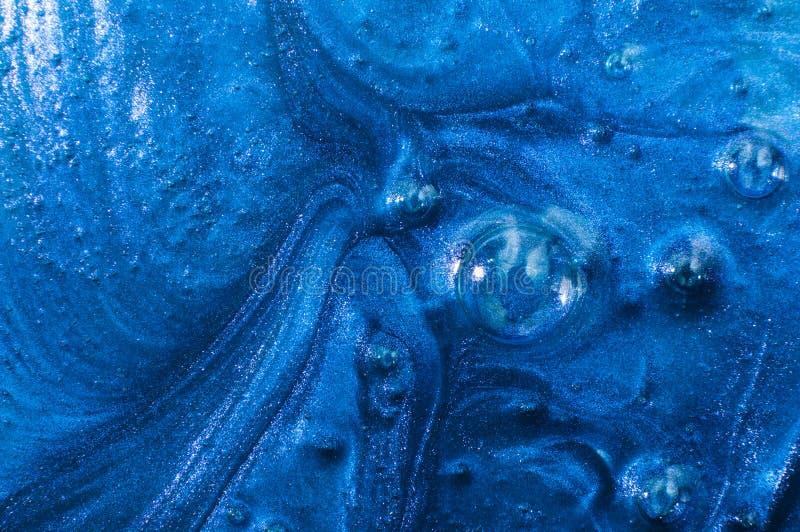 Абстрактный темно-синий шлам предпосылки стоковые изображения rf