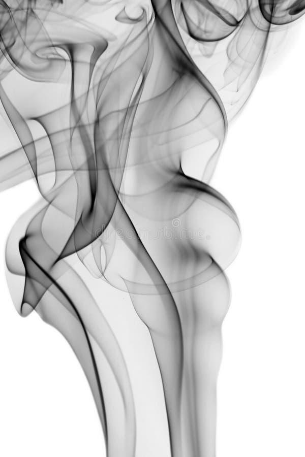 Абстрактный темный дым стоковое изображение rf