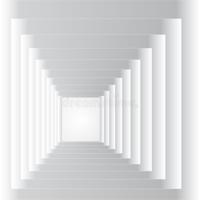 абстрактный тоннель иллюстрация штока