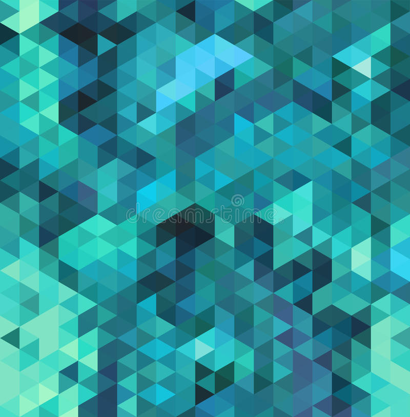 абстрактный треугольник предпосылки иллюстрация штока