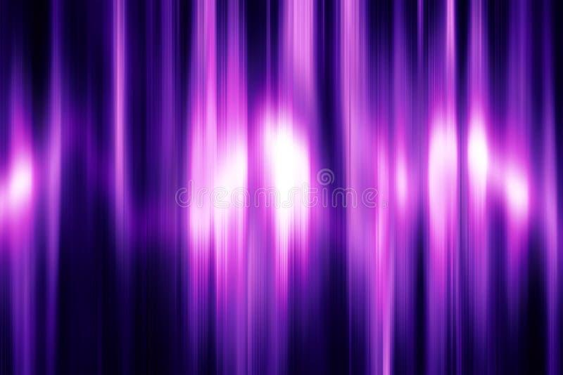 Абстрактный ультрафиолетов динамический дизайн волн иллюстрация вектора