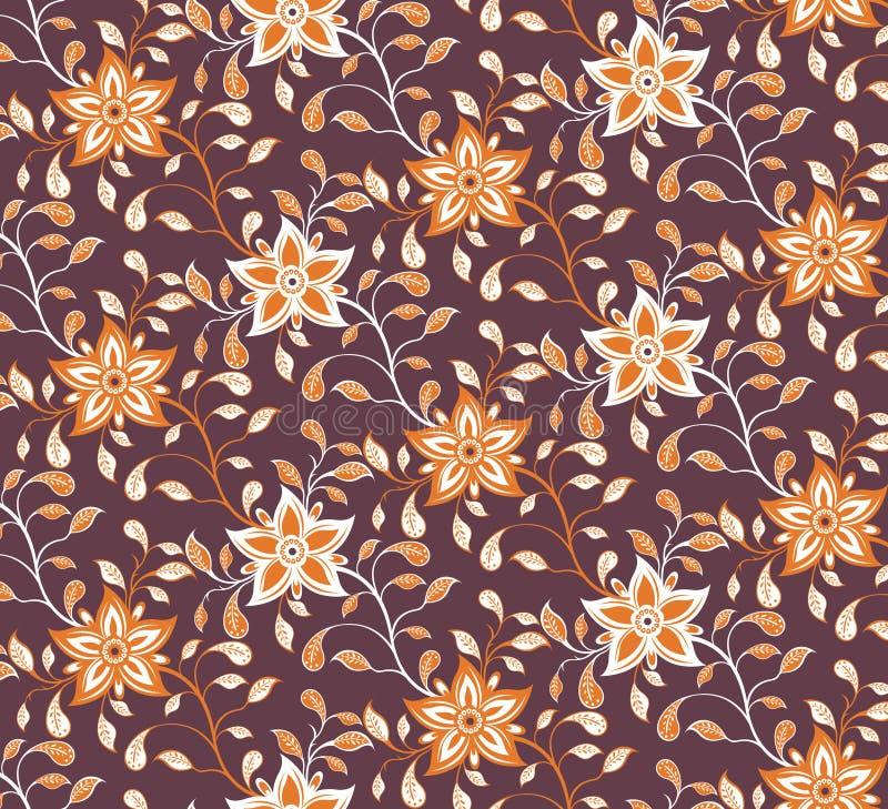 абстрактный флористический помеец иллюстрация штока